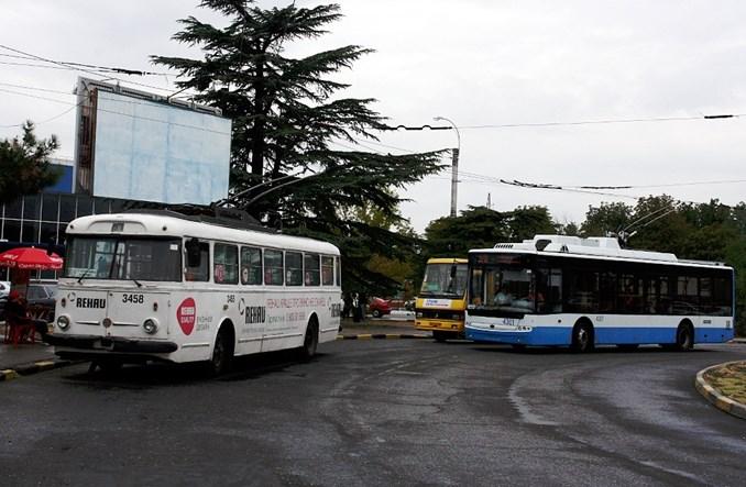 Krym: Prawie sto kilometrów... trolejbusem