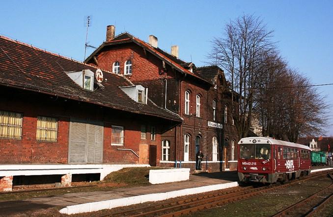 Miejska wąskotorówka w Pleszewie