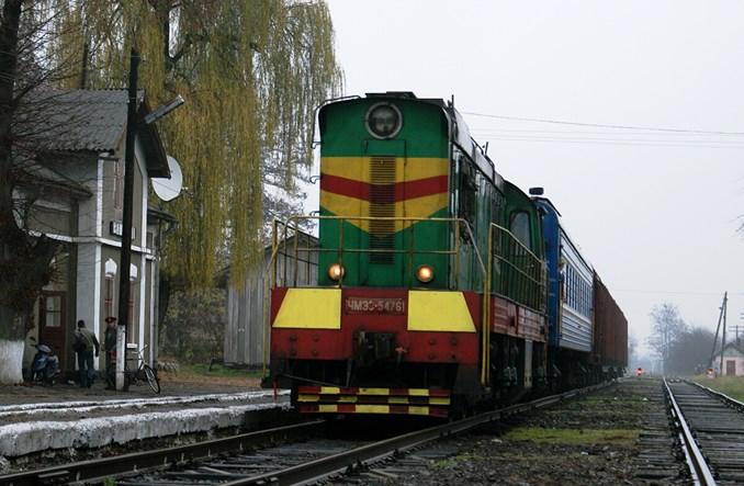 Ukraina: pasażerowie i towary razem