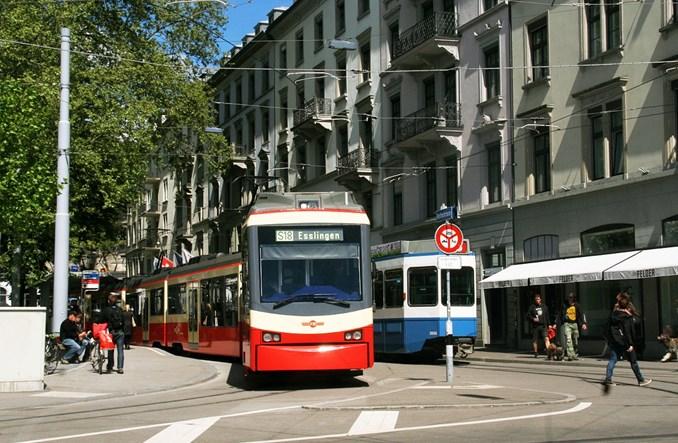 Lekki S-Bahn na torach tramwajowych