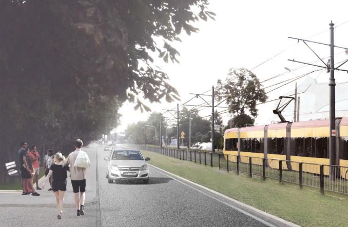 Łomianki planują sobie tramwaj (wizualizacje)