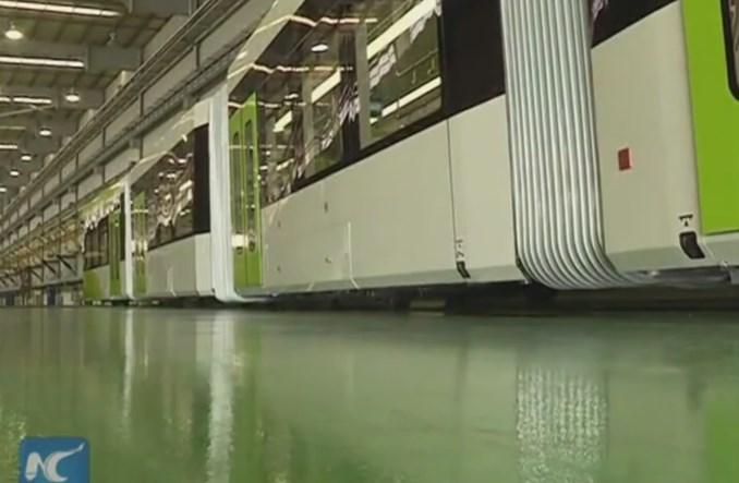 Pierwszy chiński tramwaj z superkondensatorem, czyli bez drutów
