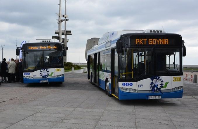 PKT Gdynia dokupuje trolejbus Solarisa
