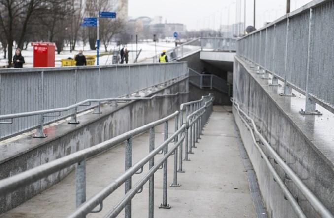 Warszawa: Przejście podziemne przy Dworcu Zachodnim po remoncie