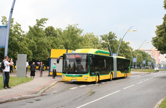 Tychy. 36 nowych autobusów na gaz CNG