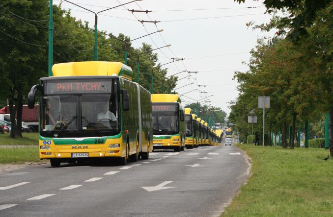 Tychy do 2024 r. chcą mieć wyłącznie autobusy CNG. Ale nie mikrobusy
