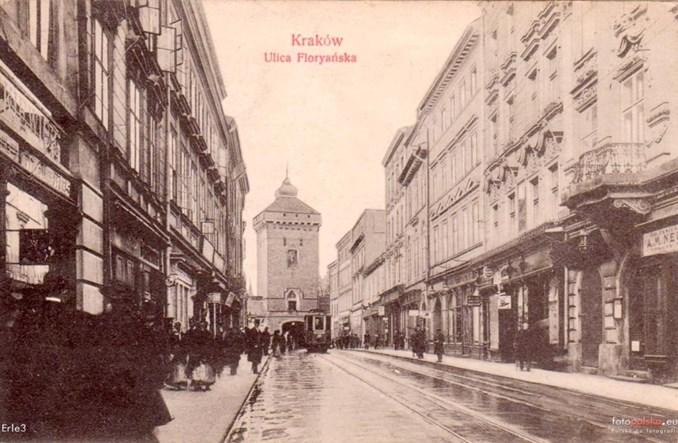 Jeszcze sto lat temu w Krakowie panował ruch lewostronny