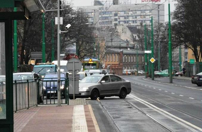Poznań: Auta nie będą blokować tramwajów na Grunwaldzkiej