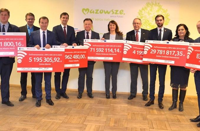 Mazowsze rozdało 189 mln zł na drogi rowerowe