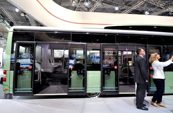 MAN w Hanowerze prezentuje swój pierwszy elektryczny autobus (zdjęcia)