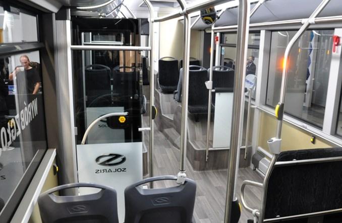 Premiera 10,5-metrowego Solarisa w Kielcach (zdjęcia)