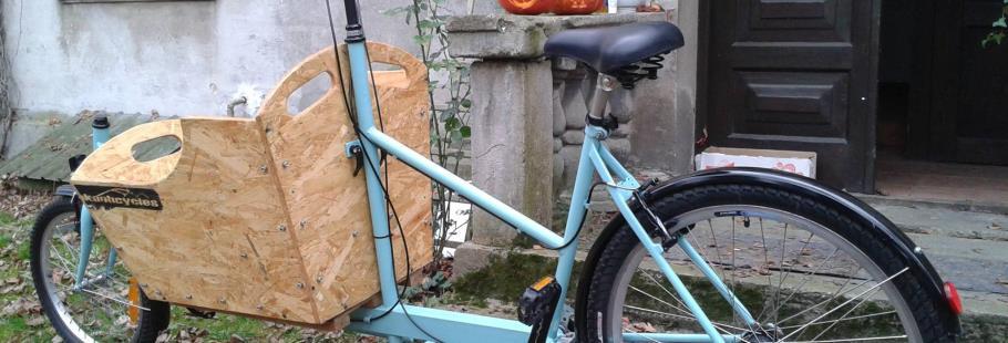 """Rower transportowy, czyli alternatywa dla typowych """"dostawczaków"""""""