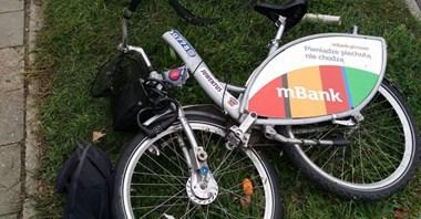Warszawa. Rower Veturilo pękł na pół. Nextbike bada sprawę