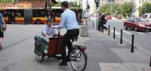 Warszawa wypożycza rowery towarowe