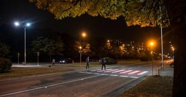 Warszawa. Aktywne przejścia dla pieszych działają