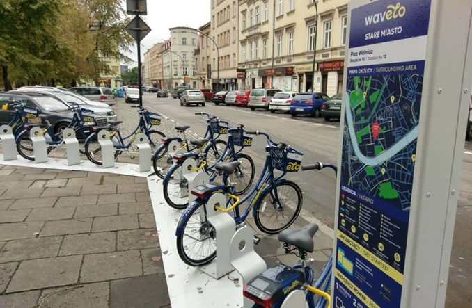 Kraków. Wavelo za pół ceny z Krakowską Kartą Rodzinną