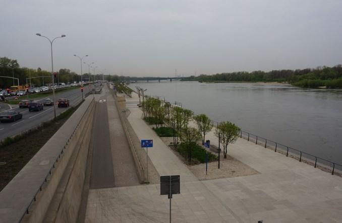 Warszawa: Bulwary dłuższe. Latem przyszłego roku dodatkowe 1,2 km