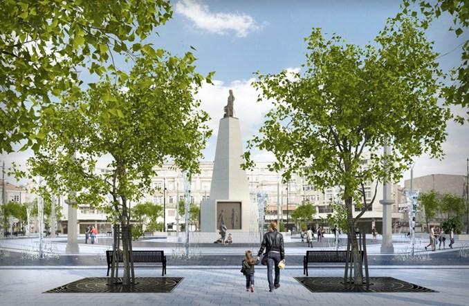 Łódź: Plac Wolności bez ronda tramwajowego
