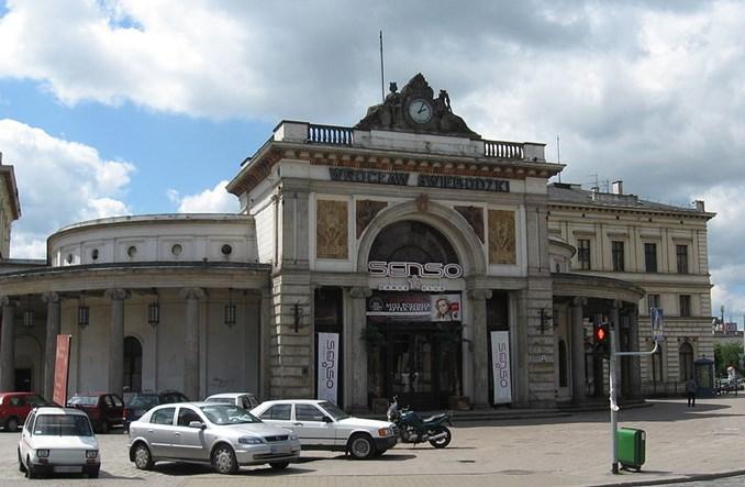 Plan transportowy Dolnego Śląska bez Dworca Świebodzkiego