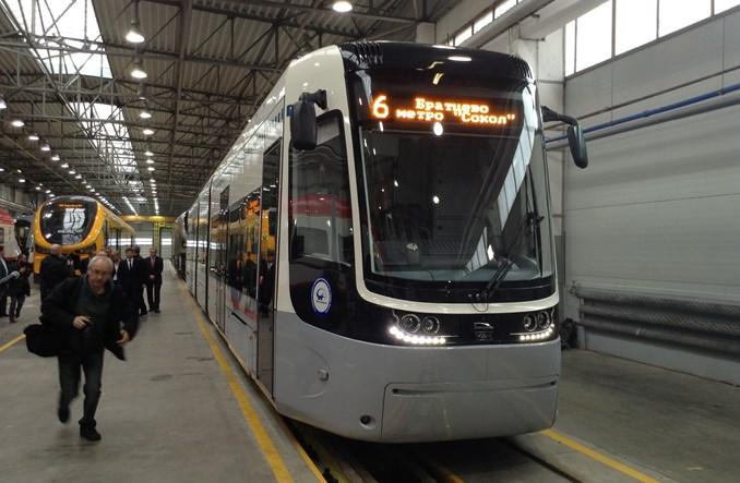 Fokstrot dla Moskwy. Pesa zaprezentowała nowy tramwaj