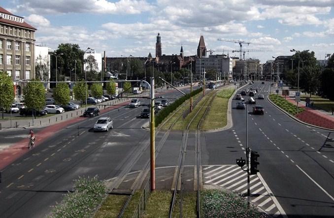Wrocław wprowadza zieleń na głównych ulicach wjazdowych